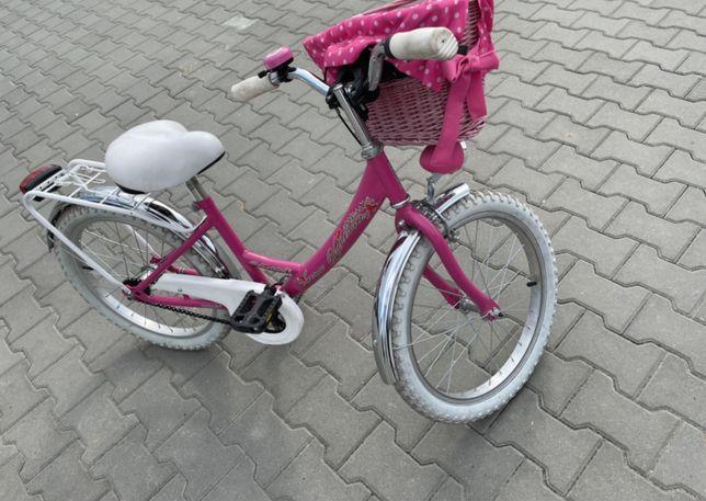Rower dla dziewczynki bardzo zadbany