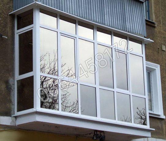 Ремонт балконов: Сварка, Расширение, Обшивка, Утепление - под ключ
