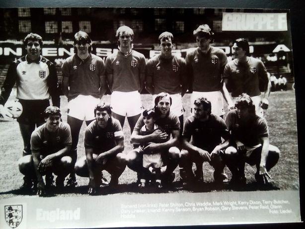 Piłka nożna Mundial 1986 r.Grupa F. Anglia,Portugalia,Maroko Unikat!