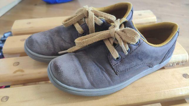 Кожаные кроссовки-полуботинки Clarcs 29 размера,17-17,5 см по стельке