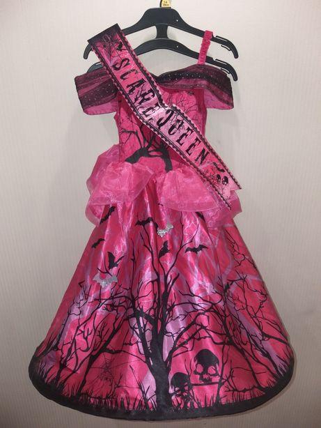 Платье нарядное карнавальное 7-8лет