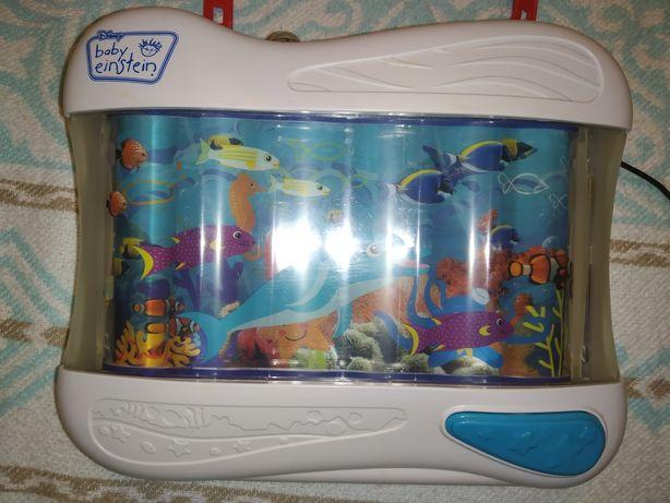 Ночник детский плывущие рыбки.