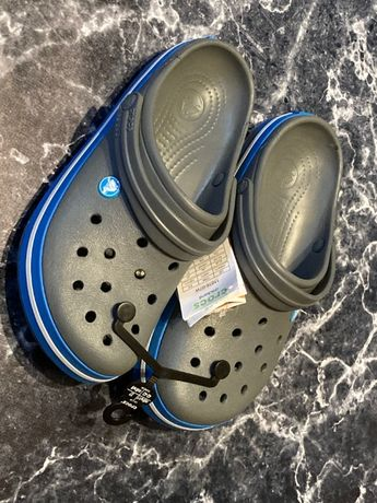 Crocs Crockband Szaro-niebieskie 42 / 43 M9 / W11