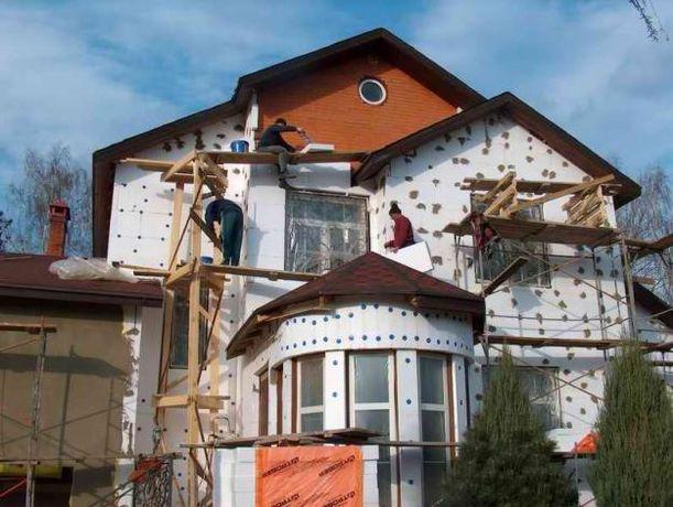 Утепление фасадов любой сложности.Все виды высотно-монтажных работ.