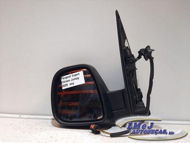 Espelho elétrico Esq Peugeot Expert / Citroen Jumpy 2020 - Usado REF. 98155884XT