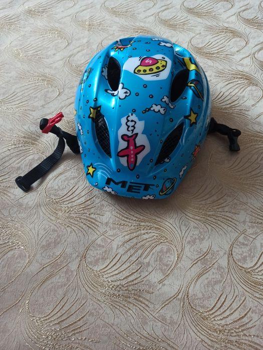 Дитячий шолом MET. 46-54см. Яготин - изображение 1