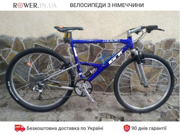 Велосипед двохпідвіс бу GT HTS 3 26 / Двухподвес б.у / Велосипеды