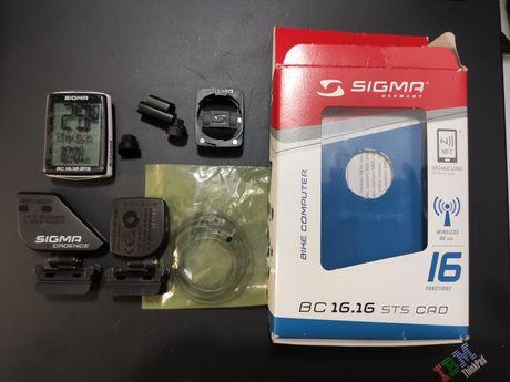 Licznik rowerowy Sigma BC 16.16 STS Kadencja Bezprzewodowy