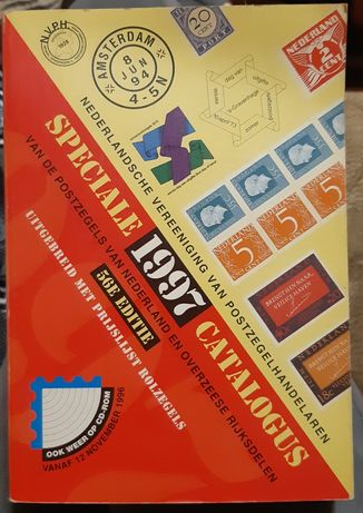2 книги - каталоги марок США и Нидерланды