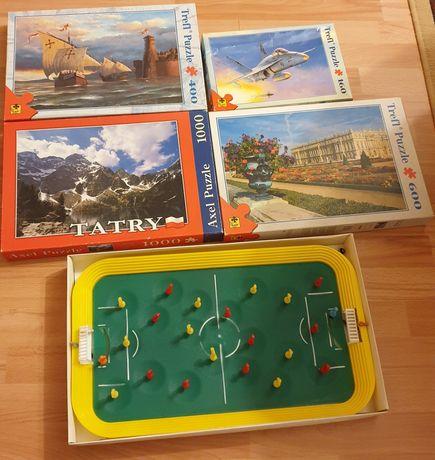 Puzzle piłkarzyki gry dla dzieci