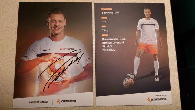 Autograf Reprezentant Polski,Borussia Dortmund ŁUKASZ PISZCZEK