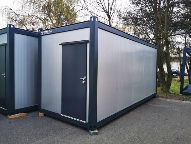 Producent kontener biurowy mieszkalny socjalny pawilon kamp