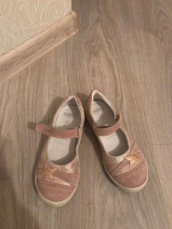 Primigi новые кожаные туфельки для девочки р.28 р.29