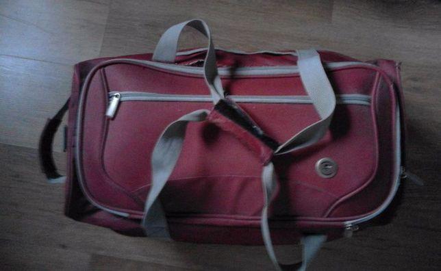 travel torba na kółkac+pasek