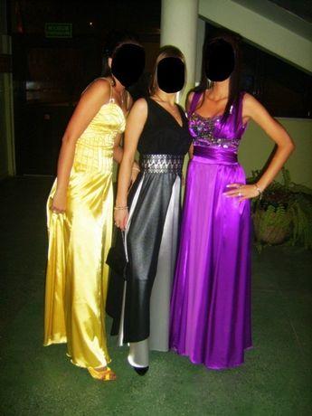 Długa sukienka Studniówka Sylwester S 36