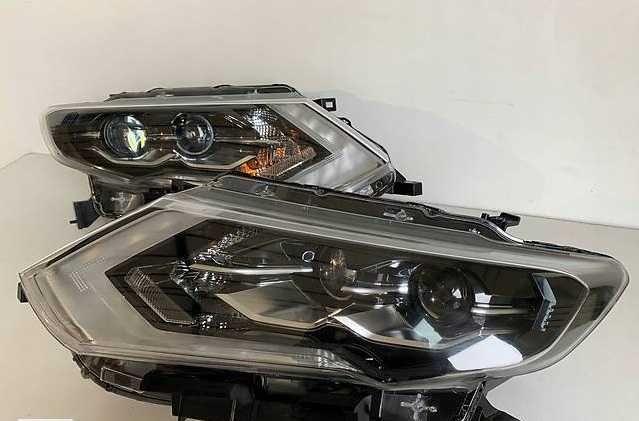 Nissan Rogue 2017 2018 2019 фары рог фулл лэд Full Led