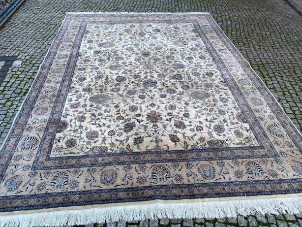 Kaszmirowy dywan perski Ispahan 360x255 nowy 30 tys