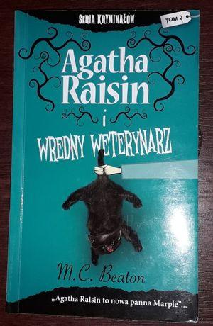 """M.C. Beaton """"Agatha Raisin i wredny weterynarz"""""""