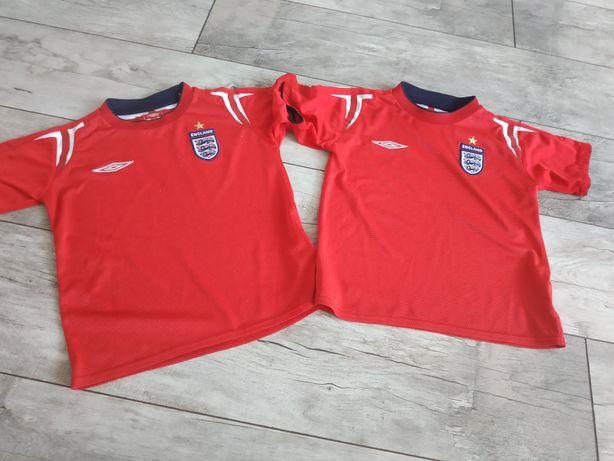 Umbro koszulki dla bliźniaków do gry w piłkę na 4-5lat