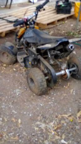 Moto 4 de criança,