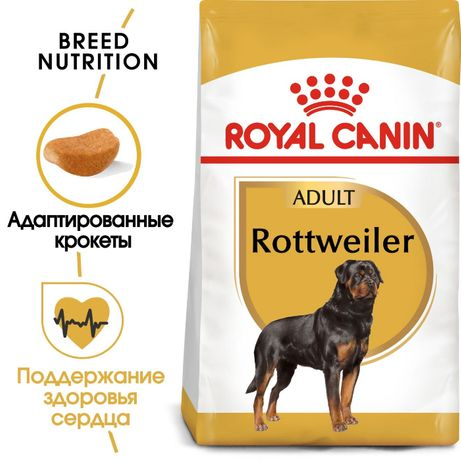 Royal Canin Rottweiler Adult Роял Канин сухой корм для собак 12кг