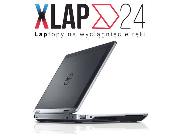 Wytrzymały Używany Laptop DELL E6430 i5 8GB 240SSD W10 HDMI DVD