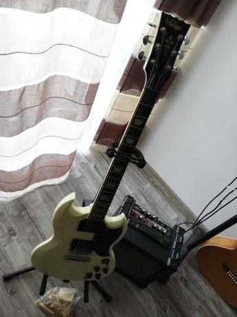 Gitara elektryczna vintage vs6 dimarzio wysyłka