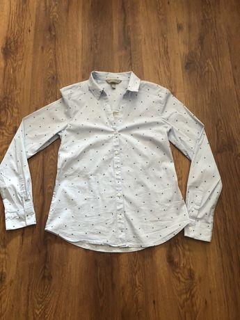 Koszula nowa h&m roz s jaskółki błękitna