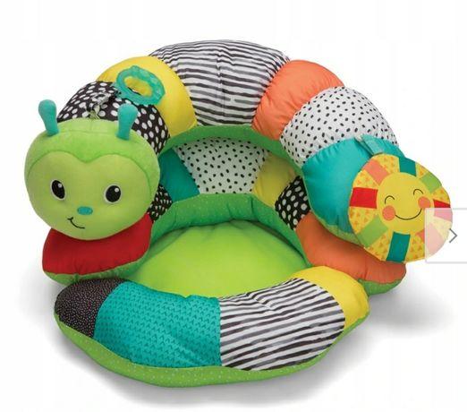 Rozkładana poduszka Gąsieniczka 2w1 Infantino