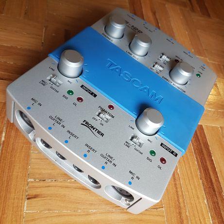 Interface Tascam US-122 USB Audio/Midi. Muito bom estado!