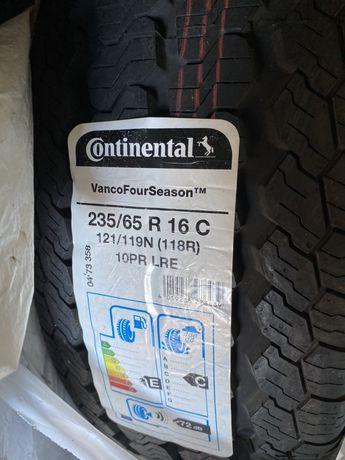 Шины Continental Vanco Four Season. R16 235/65С
