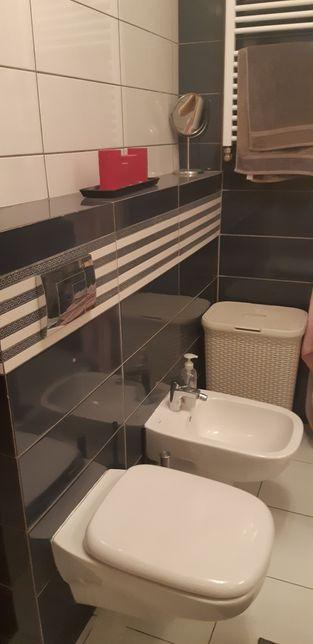 Zestaw wc i bidet koło style