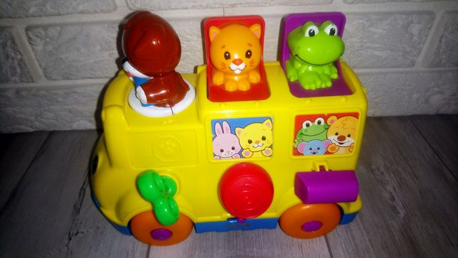 Grający autobus Fisher Price