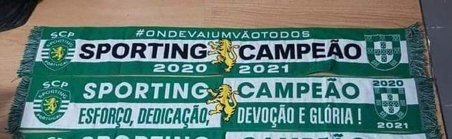 Cachecol Sporting Campeão