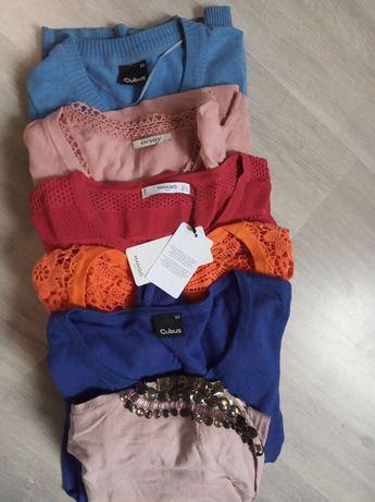 Zestaw swetrów sweterki XS Cubus mango atmosphere h&m