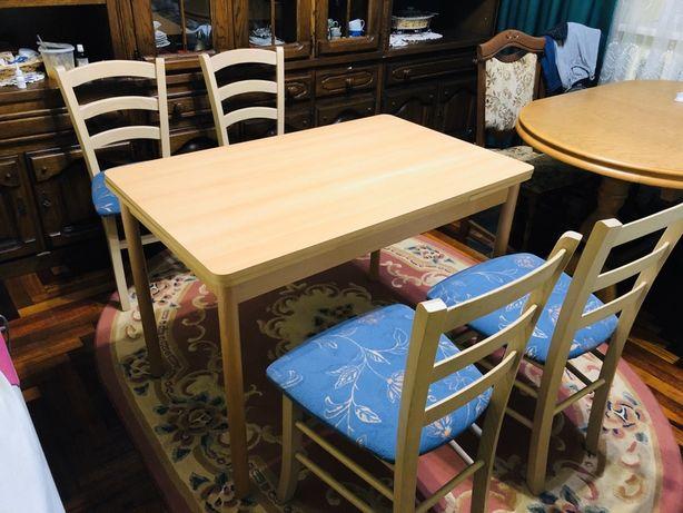 Кухонный стол и стулья стіл для кухні і стільці обеденный комплект