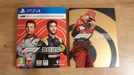 PS4 F1 2020 + Stealbook
