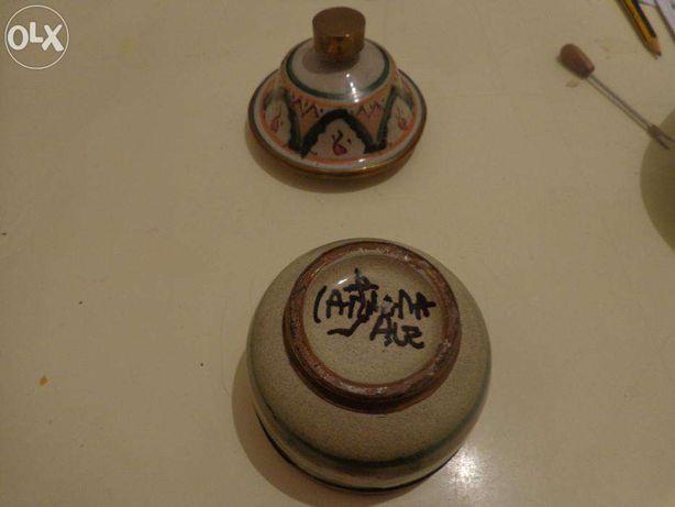 Biblot-Pote Vaso antigo colecionadores pintado á mão