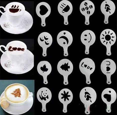 Formas para capuccino/ café