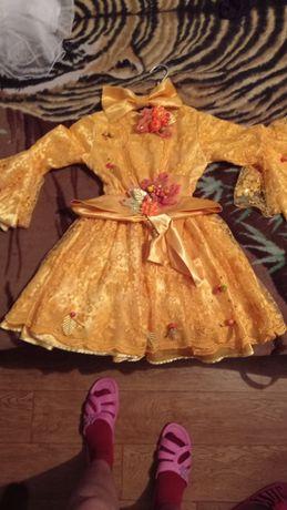 Продаю платье для праздника осени в саду