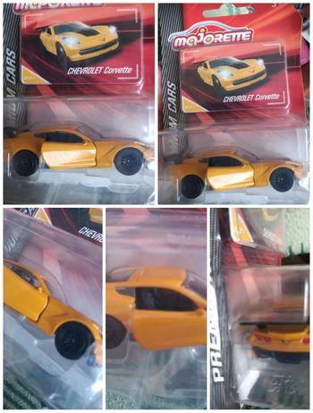 Model Majorette Chevrolet Corvette premium Cars Nowy