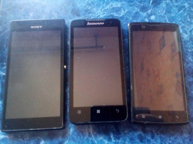 Lenovo A1000,A2010,А536,Sony  ST-27i