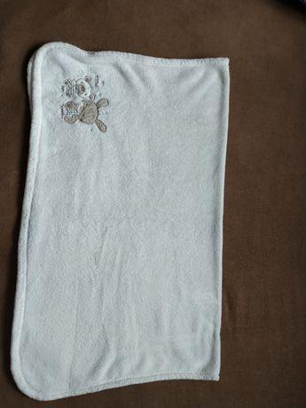 Kocyk biały 77x94 cm
