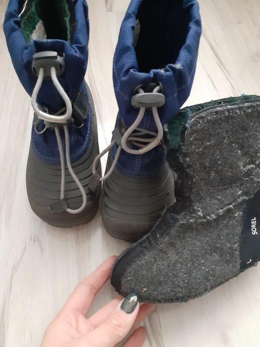 Sorel zimowe buty buciki z wkładka welniana Kargowa - image 1