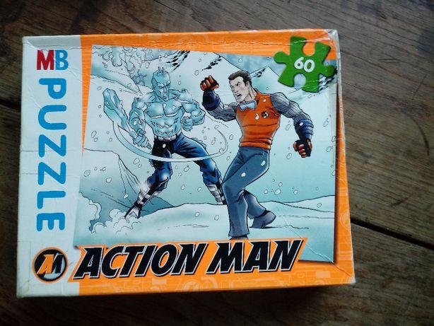 Puzzle Action Man