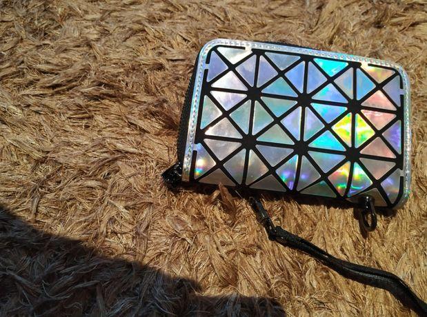 nowy portfel, kameleon