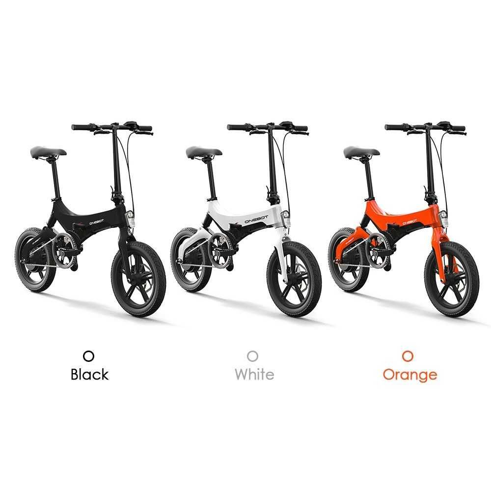 Bicicleta elétrica  Onebot S6 Motor potente de 250W  Nova