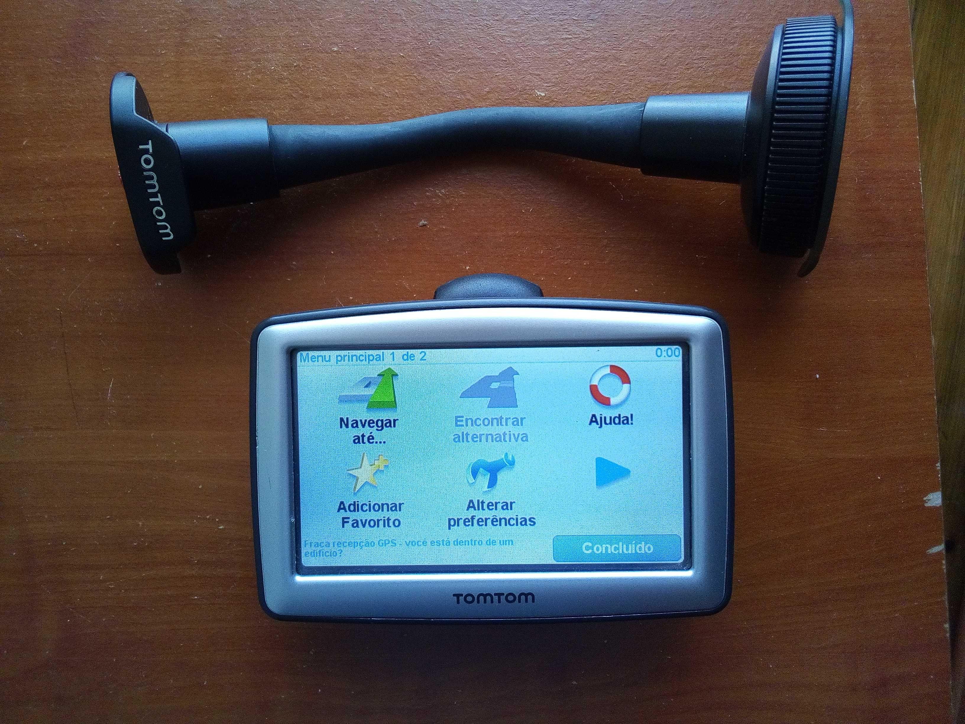 GPS tomtom GO Mapa Peninsula Ibéria e Marrocos