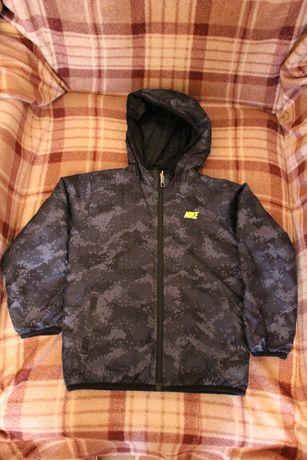 Куртка двухсторонняя весна -осень Nike 110-116
