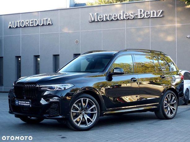 BMW X7 M50i V8 530KM Individual SalonPL FV23% Lasery/Masaże/Dach Sky Lounge!